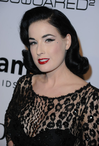 More Pics of Dita Von Teese Retro Eyes (1 of 12) - Dita Von Teese Lookbook - StyleBistro