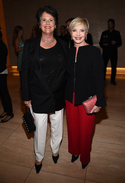 More Pics of Florence Henderson Beaded Clutch (1 of 2) - Florence Henderson Lookbook - StyleBistro [fashion,event,fashion design,outerwear,performance,florence henderson,guest,r,tom ford,dinner,amfar la inspiration gala,los angeles,california,hollywood,amfar inspiration]