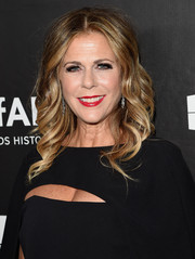 Rita Wilson looked sweet with her spiral waves at the amfAR Inspiration LA Gala.