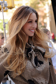 Whitney Port showed off her runway ready hair while hitting the eBay fashion photo shoot.
