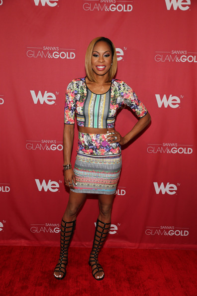 More Pics of Sanya Richards-Ross Crop Top (3 of 37) - Sanya Richards-Ross Lookbook - StyleBistro