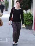 Which celeb wore the coolest harem pants?
