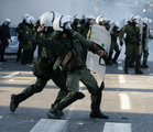 New Riots Break Out In Greek Capital