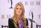 Carrie Prejean in Donald Trump Press Conference In Regards To Miss California USA