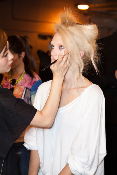 3.1 Phillip Lim Spring 2013 - Backstage