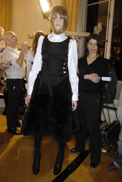 A.F. Vandevorst Fall 2007 - Backstage