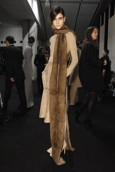 Akris Fall 2008 - Backstage
