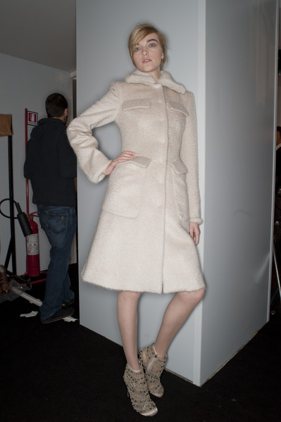Alberta Ferretti at Milan Fall 2010 (Backstage)