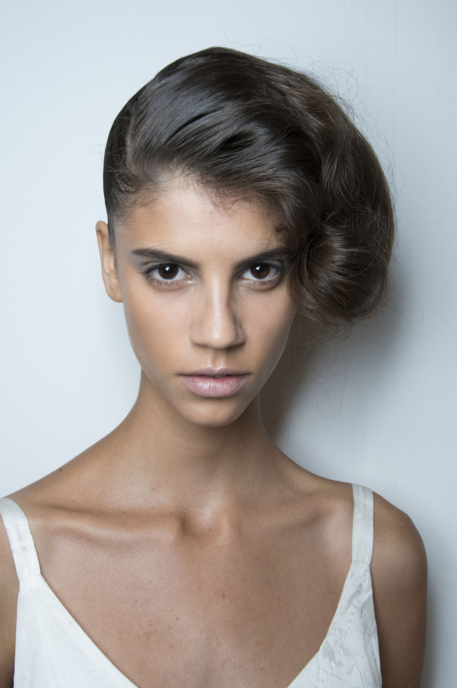 7 Best Hairstyles For Spring : Herchcovitch best spring runway hairstyles stylebistro