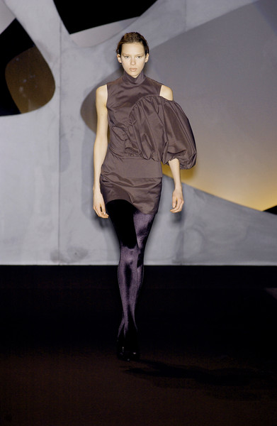 Amaya Arzuaga at Milan Fall 2003