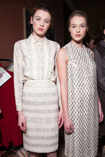 Andrea Incontri Fall 2013 - Backstage