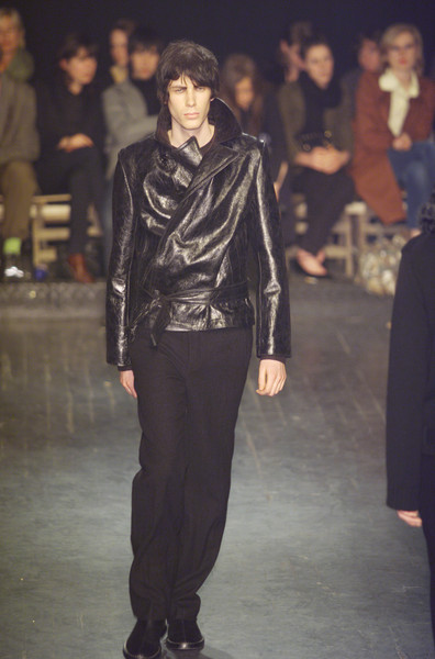 Ann Demeulemeester at Paris Fall 2001