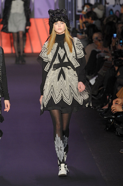 Anna Sui at New York Fall 2011