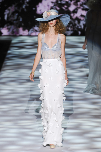 Badgley Mischka at New York Spring 2011