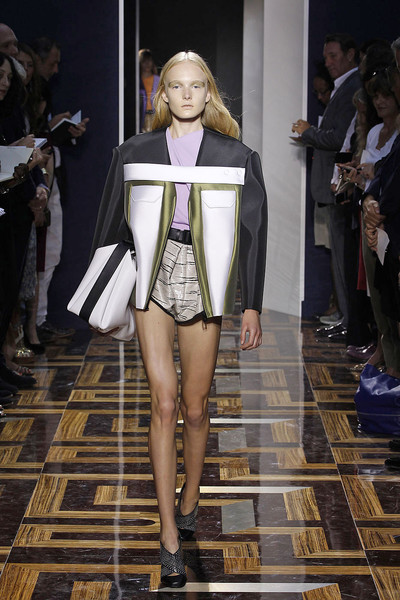 Balenciaga at Paris Spring 2012