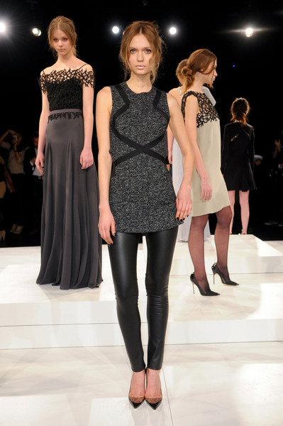 Behnaz Sarafpour at New York Fall 2011