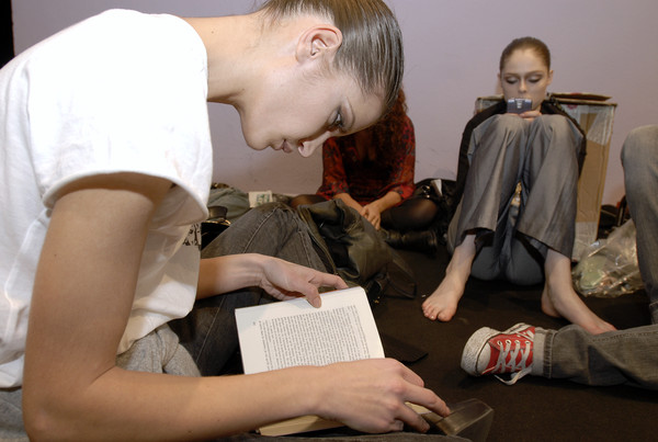 Belstaff Fall 2007 - Backstage