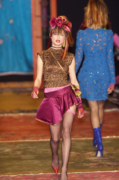 Betsey Johnson at New York Fall 2001