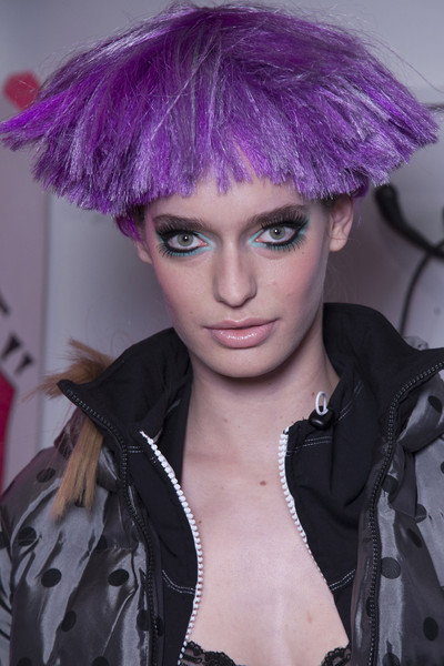 Betsey Johnson Fall 2013 - Backstage