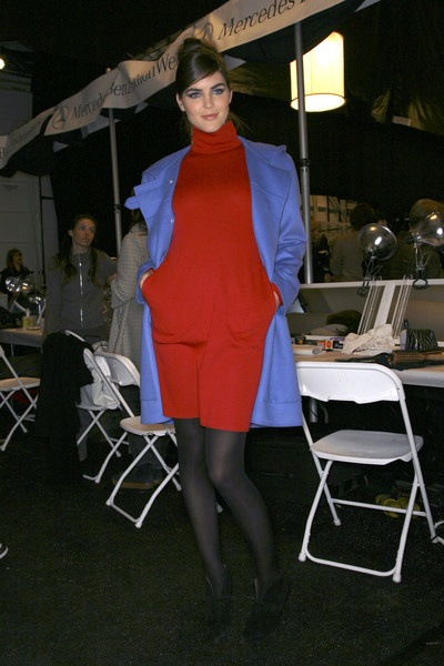Bill Blass Fall 2007 - Backstage