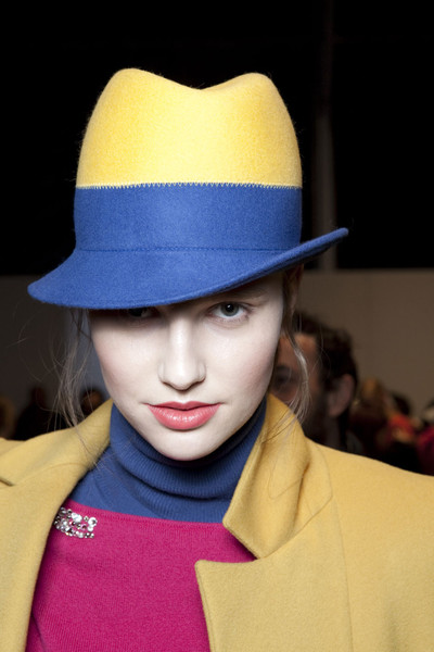 Blugirl at Milan Fall 2011 (Backstage)