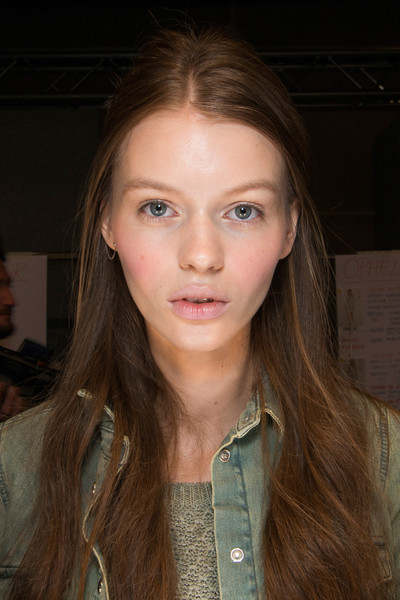 Blugirl at Milan Spring 2013 (Backstage)