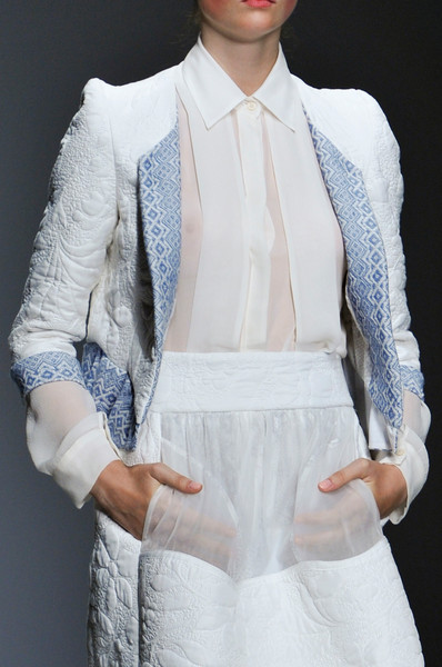 Bora Aksu at London Spring 2014 (Details)