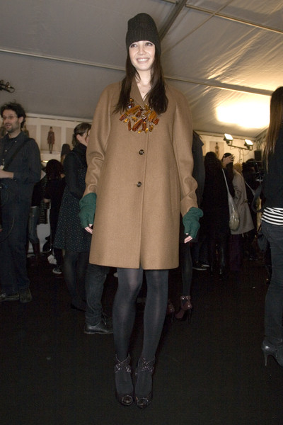 Burberry Prorsum Fall 2008 - Backstage