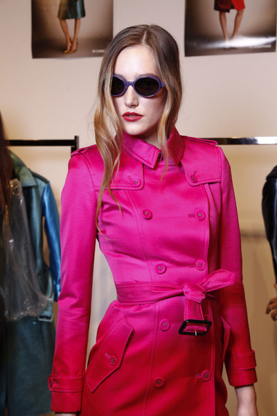 Burberry Prorsum Spring 2013 - Backstage