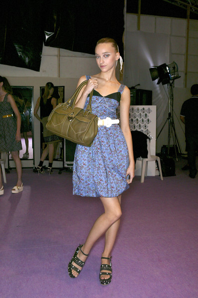 Cacharel Spring 2007 - Backstage