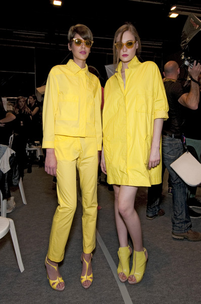 Cacharel Spring 2011 - Backstage