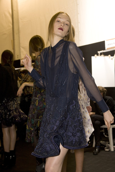 Chloé Fall 2008 - Backstage