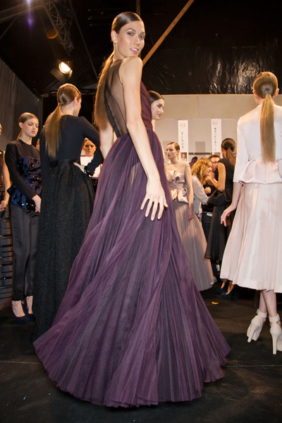 Christian Dior Fall 2012 - Backstage
