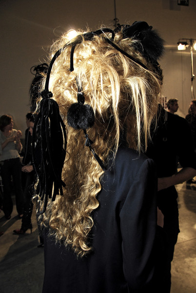 Christian Lacroix Fall 2007 - Backstage