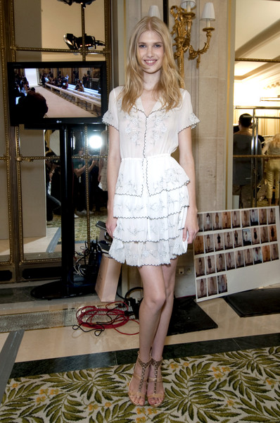 Collette Dinnigan Spring 2011 - Backstage