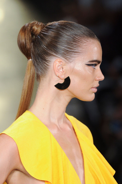 Fan Earrings at Cushnie et Ochs