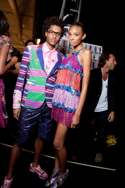 Custo Barcelona Spring 2010 - Backstage