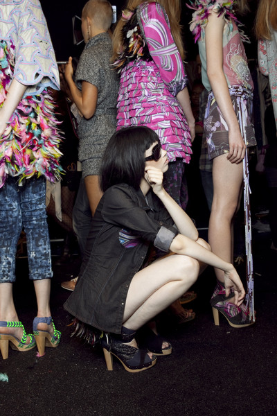 Custo Barcelona at New York Spring 2011 (Backstage)