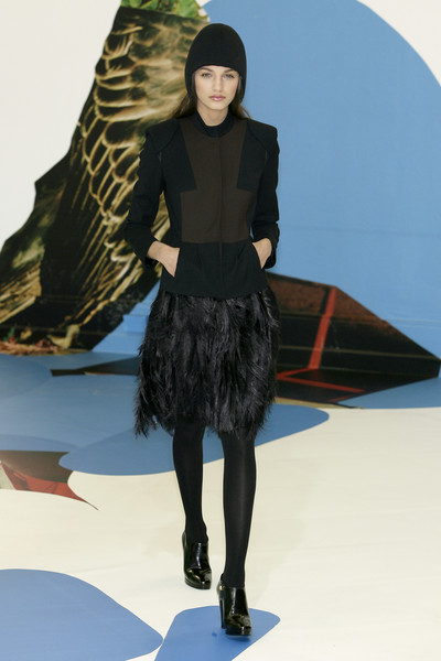Debora Sinibaldi at Milan Fall 2009