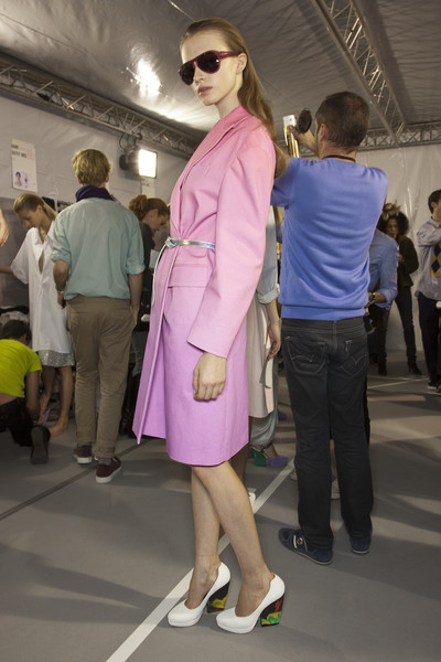 Dries Van Noten Spring 2011 - Backstage