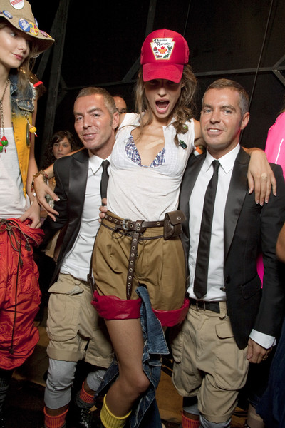 Dsquared² Spring 2010 - Backstage