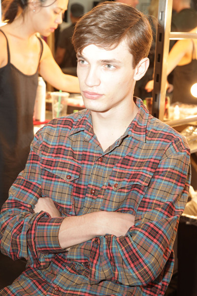 Duckie Brown Spring 2012 - Backstage