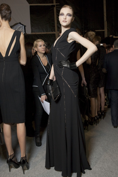 Elie Saab Fall 2010 - Backstage