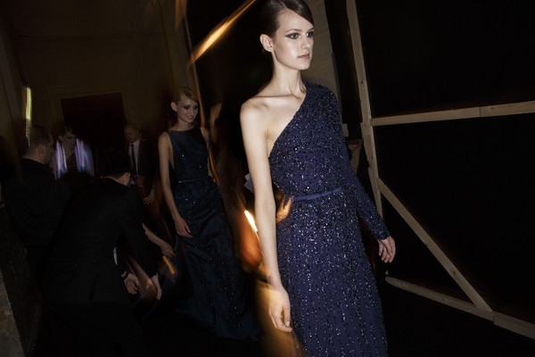 Elie Saab Fall 2013 - Backstage