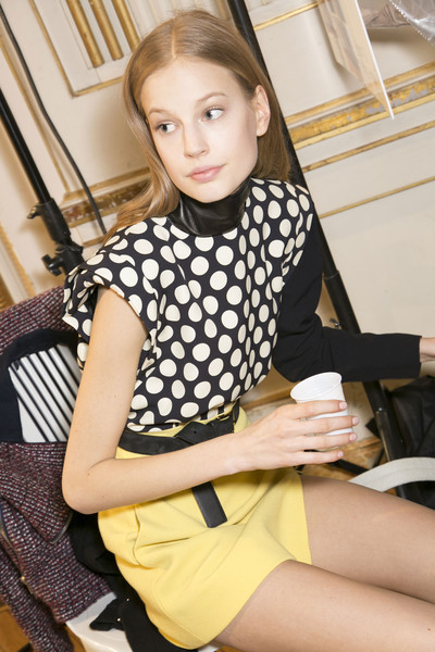 Emanuel Ungaro Fall 2013 - Backstage