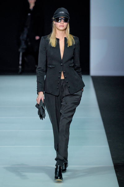 Emporio Armani at Milan Fall 2011