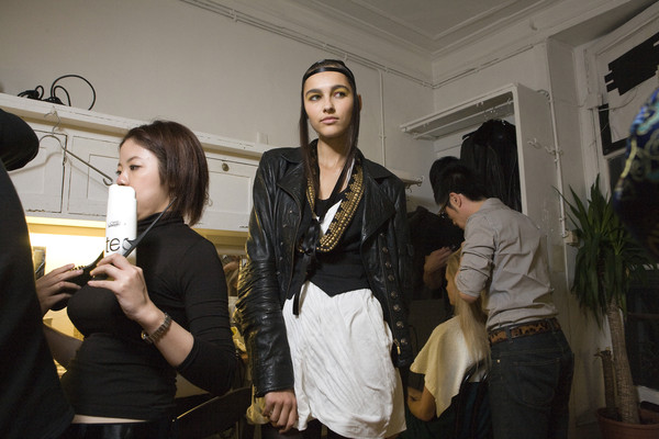 Fatima Lopes Spring 2009 - Backstage
