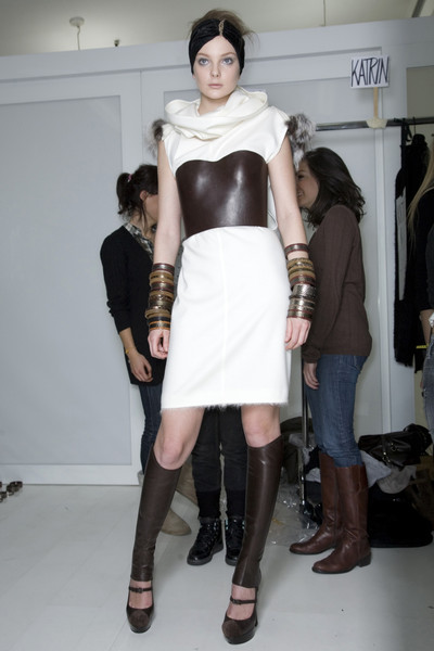 Fendi Fall 2009 - Backstage