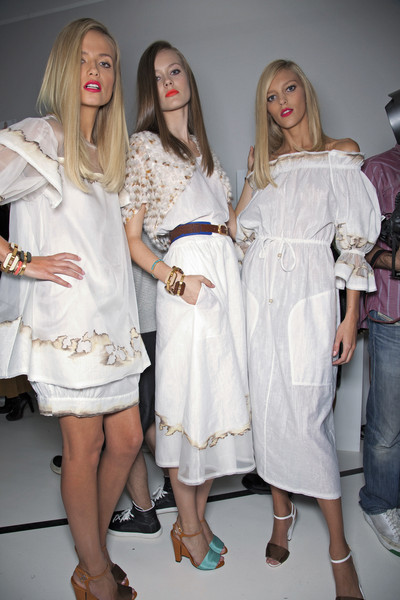 Fendi Spring 2011 - Backstage