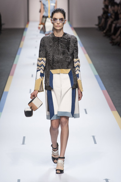 Fendi at Milan Spring 2013